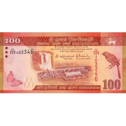 Sri-Lanka - Pick 125d - 100 rupees - 04/02/2015 - Etat : NEUF