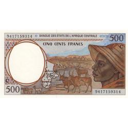 Congo (Brazzaville) - Afr. Centrale - Pick 101Cb - 500 francs - 1994 - Etat : NEUF