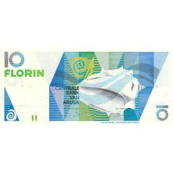 Aruba - Pick 7 - 10 florin - 01/01/1990 - Etat : NEUF