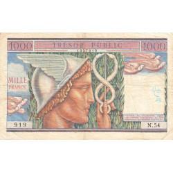 France - Fayette V35-01 - 1955 - 1000 francs Trésor Public