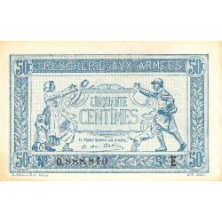 VF 01-04 - 50 centimes - Trésorerie aux armées - 1917 - Etat : SPL