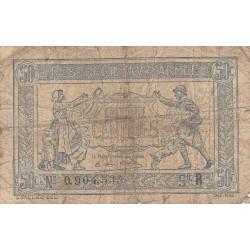VF 02-01 - 50 centimes - Trésorerie aux armées - 1919 - Etat : B+