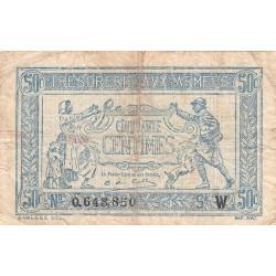 VF 02-06 - 50 centimes - Trésorerie aux armées - 1919 - Etat : TB-