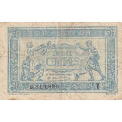 VF 2-8 - 50 centimes - Trésorerie aux armées - 1919 - Etat : TB