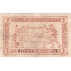 VF 04-09 - 1 franc - Trésorerie aux armées - 1919 - Etat : TB+