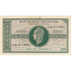 VF 12-1 - 1000 francs - Marianne - 1945 - Etat : TB+