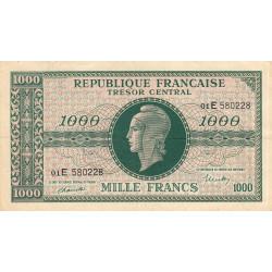 VF 13-02 - 1000 francs - Marianne - 1945 - Etat : TTB