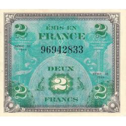 VF 16-01 - 2 francs - Drapeau - 1944 - Etat : SUP+ à SPL