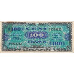 VF 20-01 - 100 francs - Drapeau - 1944 - Etat : TB+