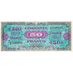 VF 24-02 - 50 francs série 2 - France - 1944 (1945) - Etat : SUP