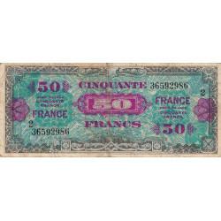 VF 24-02 - 50 francs série 2 - France - 1944 - Etat : TB-