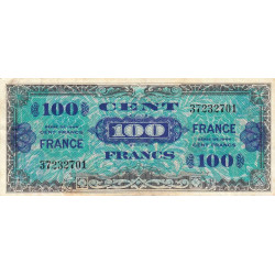 VF 25-01 - 100 francs - France - 1944 - Etat : TB+