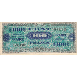 VF 25-01 - 100 francs - France - 1944 - Etat : TB
