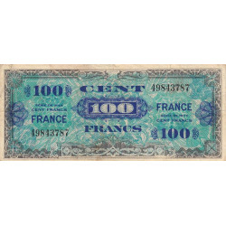 VF 25-01 - 100 francs - France - 1944 (1945) - Etat : TB-
