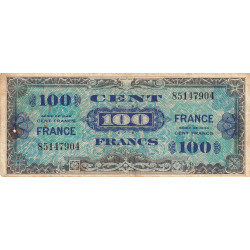 VF 25-01 - 100 francs - France - 1944 - Etat : B+