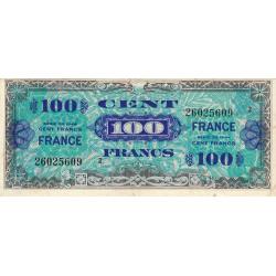 VF 25-02 - 100 francs série 2 - France - 1944 (1945) - Etat : TTB