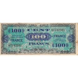 VF 25-02 - 100 francs série 2 - France - 1944 (1945) - Etat : TB-