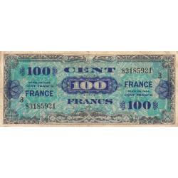 VF 25-3 - 100 francs série 3- France - 1944 - Etat : TB