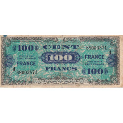 VF 25-04 - 100 francs série 4 - France - 1944 - Etat : TB-