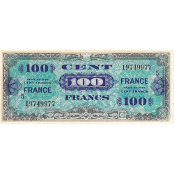 VF 25-05 - 100 francs série 5 - France - 1944 (1945) - Etat : TTB+