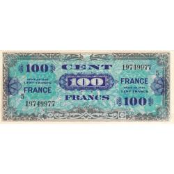 VF 25-5 - 100 francs série 5 - France - 1944 - Etat : TTB+