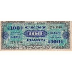 VF 25-5 - 100 francs série 5 - France - 1944 - Etat : TB