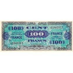 VF 25-5 - 100 francs série 5 - France - 1944 - Etat : SPL