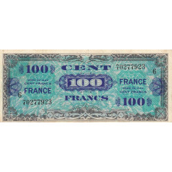 VF 25-06 - 100 francs série 6 - France - 1944 - Etat : TTB