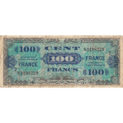 VF 25-07 - 100 francs série 7 - France - 1944 (1945) - Etat : B+