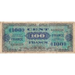VF 25-07 - 100 francs série 7 - France - 1944 - Etat : B+