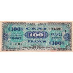 VF 25-7 - 100 francs série 7 - France - 1944 - Etat : TB+