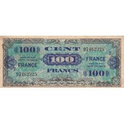 VF 25-7 - 100 francs série 7 - France - 1944 - Etat : TB