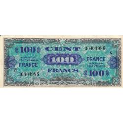 VF 25-8 - 100 francs série 8 - France - 1944 - Etat : TTB