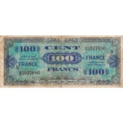 VF 25-08 - 100 francs série 8 - France - 1944 (1945) - Etat : B+