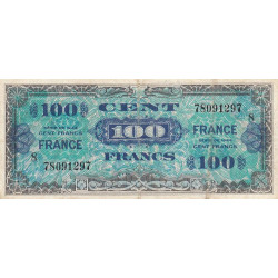 VF 25-8 - 100 francs série 8 - France - 1944 - Etat : TB+