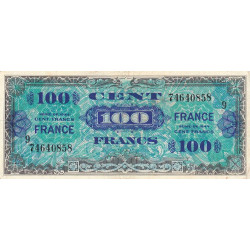 VF 25-09 - 100 francs série 9 - France - 1944 (1945) - Etat : TTB
