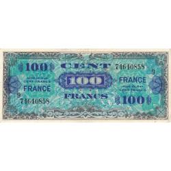 VF 25-9 - 100 francs série 9 - France - 1944 - Etat : TTB