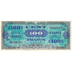 VF 25-10 - 100 francs série 10 - France - 1944 - Etat : TTB-