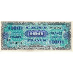 VF 25-10 - 100 francs série 10 - France - 1944 - Etat : TTB