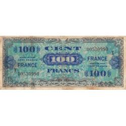 VF 25-11 - 100 francs série X - France - 1944 - Etat : TB-