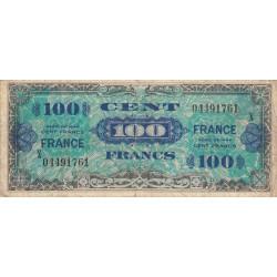 VF 25-11 - 100 francs série X - France - 1944 (1945) - Etat : TB-