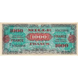 VF 27-2 - 1'000 francs série 2 - France - 1944 - Etat : TTB