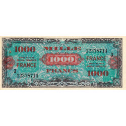 VF 27-03 - 1'000 francs série 3 - France - 1944 (1945) - Etat : SUP