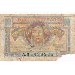 VF 30-01 - 10 francs - Trésor français - Territoires occupés - 1947 - Etat : AB