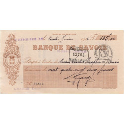 Banque de Savoie - 1926 - 1a - Etat : TTB+