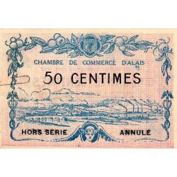 Alais (Alès) - Pirot 4-8 - 50 centimes - Annulé - 1916 - Etat : SUP
