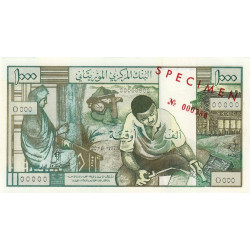 Mauritanie - Pick 3s - 1'000 ouguiya - 1973 - Spécimen - Etat : NEUF
