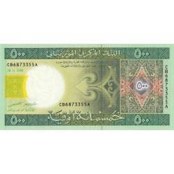 Mauritanie - Pick 12b - 500 ouguiya - 28/11/2006 - Etat : NEUF