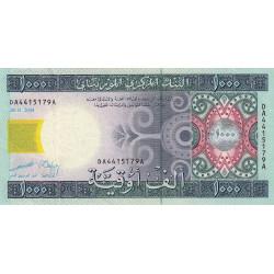 Mauritanie - Pick 13a - 1'000 ouguiya - 28/11/2004 - Etat : TTB
