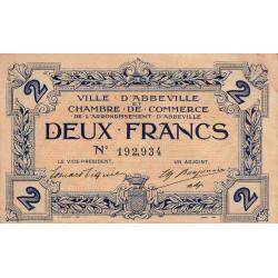 Abbeville - Pirot 1-5c - 2 francs - Sans date - Etat : TTB